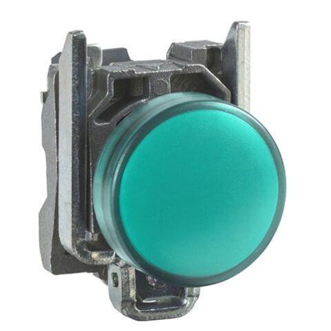 Schneider XB4BVM3-voyant lumineux DEL – Ø22 – vert – 230V – vis étrier-min