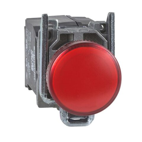 Schneider XB4BVM4-voyant lumineux DEL – Ø22 – rouge – 230V-min
