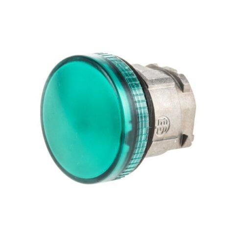Schneider ZB4BV033- tête voyant lumineux DEL - Ø22 - lisse - vert-min