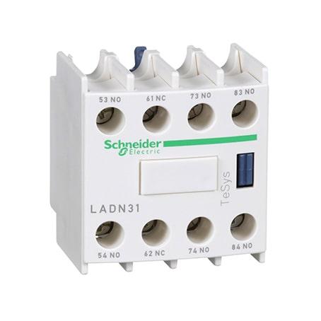 Schneider bloc de contacts auxiliaires 3F+1O -LADN31