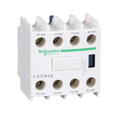 Schneider bloc de contacts auxiliaires 4F+0O -LADN40