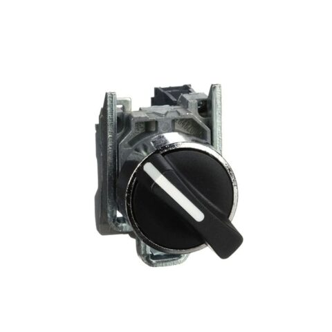 Schneider bouton tournant manette Ø22 -noir -1F -XB4BD21-min