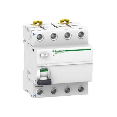 Schneider interrupteur différentiel 4P 25A 300mA type AC -A9R14425