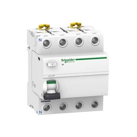 Schneider interrupteur différentiel 4P 63A 300mA type AC -A9R14463