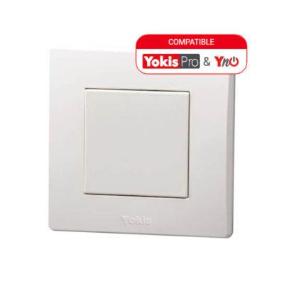 YOKIS Télécommande Murale 1 touche - Power -TLM1T45P