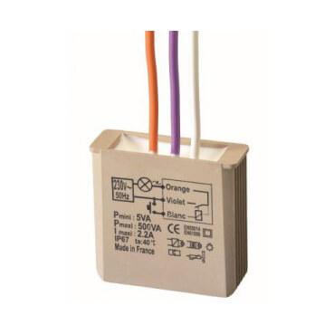 YOKIS - Télérupteur Encastrable, 500W -MTR500E