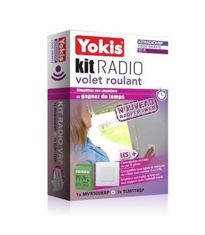 YOKIS KIT RADIO VOLET ROULANT