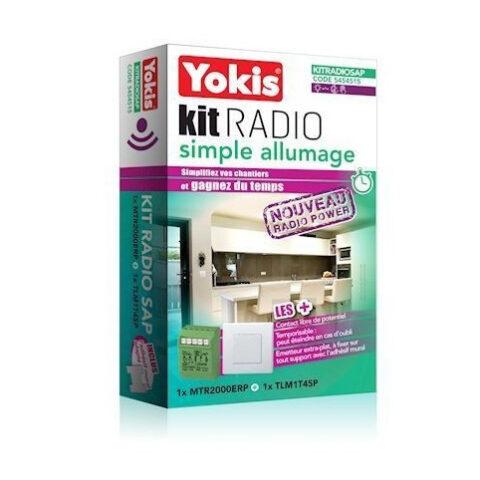 Yokis kit radio simple allumage gamme radio power - KITRADIOSAP