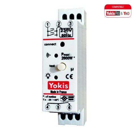 Télérupteur Temporisé Modulaire RADIO 2000W - MTR2000MRP