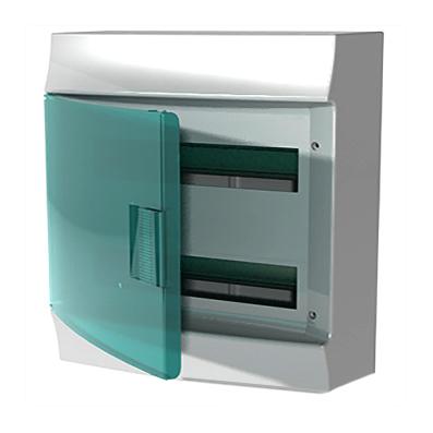 Coffret Saillie Mistral 41W - porte transparente-2X18M - 1SPE007717F2320