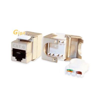 Lienk SOCTB640-NOYAU RJ45 CAT6 SFTP -KEYSTONE -SLIM (1)