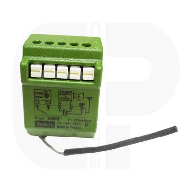 YOKIS Micromodule Radio pour volets roulants Encastré 500W -MVR500ERP (2)