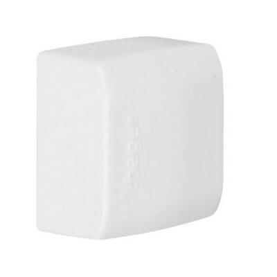 Hager embout 12 x 20 mm blanc paloma ATA12206/9010