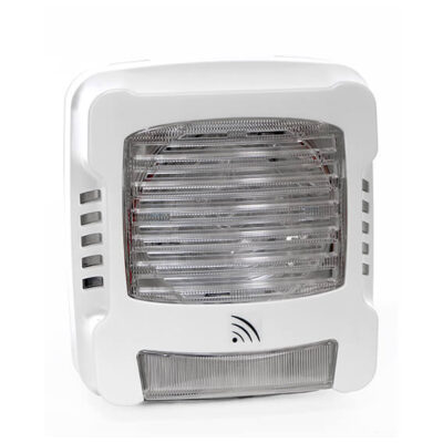 Avertisseur sonore et ou lumineux radio axendis