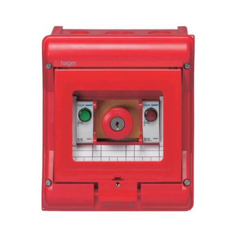 Coffret sécurité Vector IP55 IK07 cl