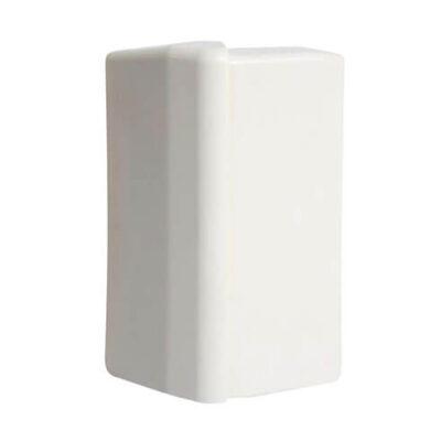 HAGER -Angle extérieur SL15100 blanc paloma -SL1510039010 (1)