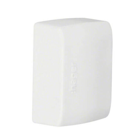 HAGER -Embout pour moulure ATHEA 12x30mm Blanc -ATA123069010