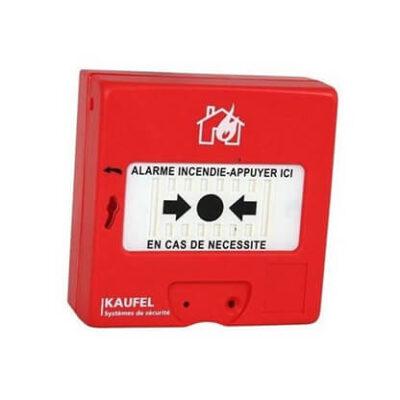 Kaufel Déclencheur manuel alarme rouge type 4 kaufel -534115