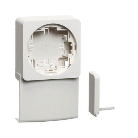 Support appareillage saillie ateha pour ATA20x50 blanc polaire (1)