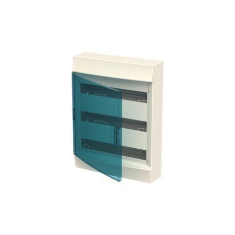 ABB Coffret saillie mistral 41w 650° porte transparente-3x18m -F711959