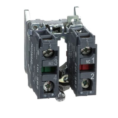 Harmony XB4 - corps de bouton - 1O+1F - raccordement bornes ressort-min