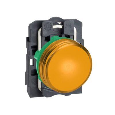 Harmony XB5 - voyant lumineux DEL - Ø22 - orange - 24V - vis étrier-min
