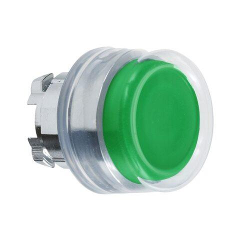 Harmony tête de bouton poussoir + capuchon IP69K - Ø22 - vert-min (1)