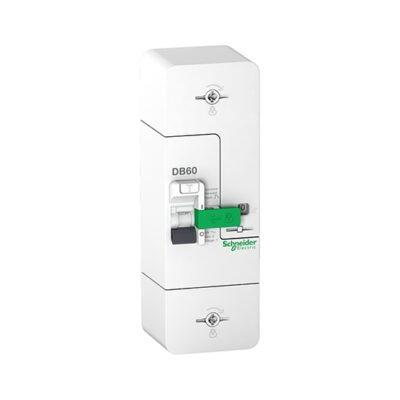 Resi9 DB60 - Disjoncteur Branchement - 1P+N - 15-30-45A 500mA - diff inst.-min