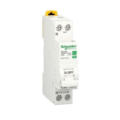 SCHNEIDER Resi9 XP Disjoncteur 32A Ph+N courbe C 3kA 230V - R9PFC632