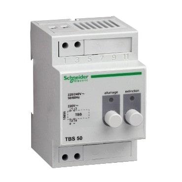 Télécommande de blocs d'éclairage de sécurité - compatibilité 50 blocs -15855-min