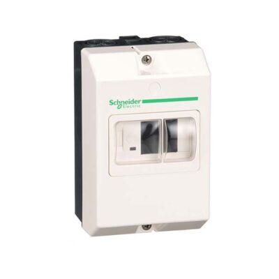 Schneider Boîtier pour disjoncteurs GV2ME - IP55 - Plastique -GV2MC02