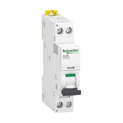 Schneider Disjoncteur 10A-6kA -1P+N - Courbe C -A9P22610
