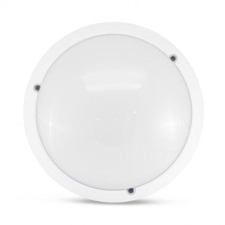 El-vision LED Hublot Ø300 E27 Blanc IP65 + Détecteur -778605