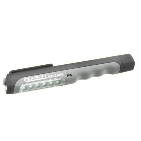 Expert BY FACOM Lampe stylo 6+1 leds rechargeable usb - E201406