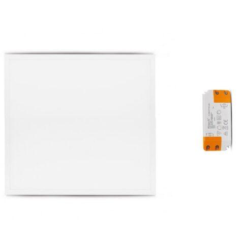 El-vision Plafonnier LED Blanc Backlit 595x595 36W 6000K x2 -777260