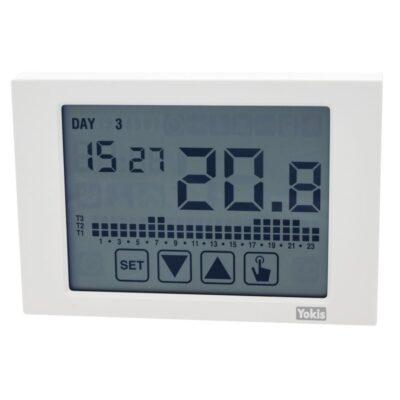 Yokis Thermostat Sans fil - Écran tactile - Blanc - IP40 -THERMARP