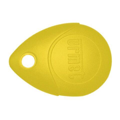 URMET Badge de proximité -Jaune -13.56 MHz -MEMOPROX/J