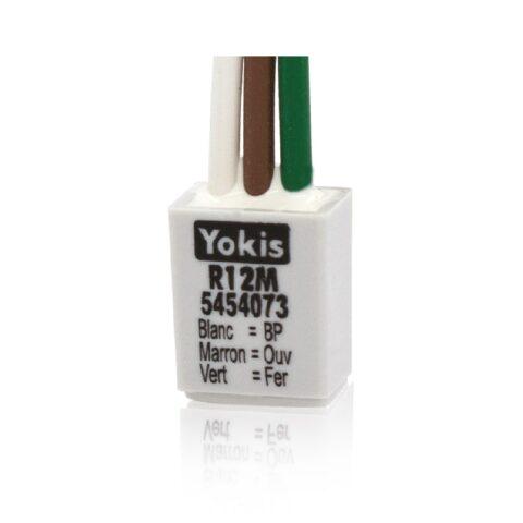 Yokis Adaptateur poussoir double pour micromodules sur un fil - R12M-min-min