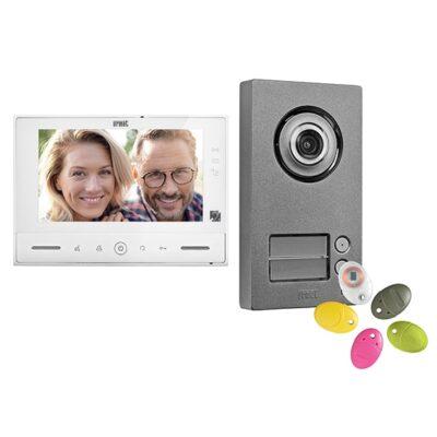 Urmet Kit vidéo Note 2 couleur 2 boutons - 1723/72