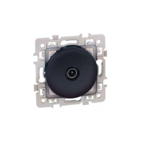 Prise TV simple Square 1 poste - Vulcain - 60364
