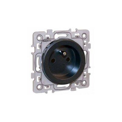 Prise de courant 2P+T 16A -1 poste - Square - Vulcain - 60360