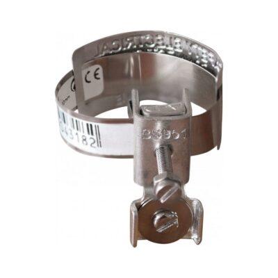 Collier d'équipotentialité - 12cm - Diamètre 8 à 32 mm - 70511