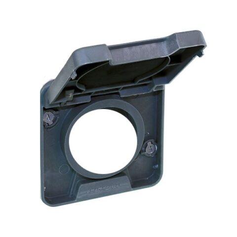 Cadre interm. fonction cde COMETE pour saillie gris IP55 - 60856
