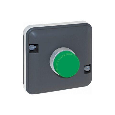 Voyant vert composable GRIS IP55 - 60848