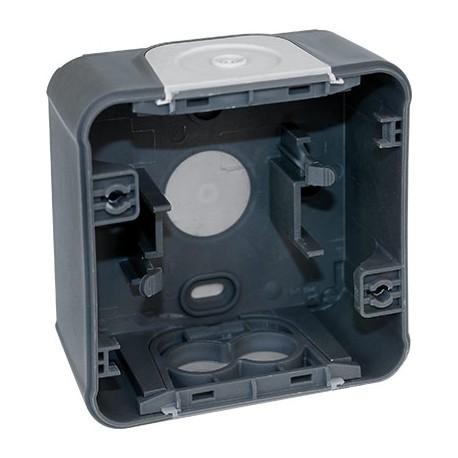 Boîte 1 poste - Gris - Oxxo - IP55 - 60860