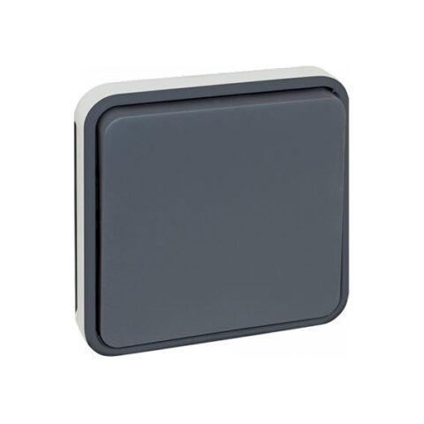 Boutton poussoir composable GRIS IP55 - 60823