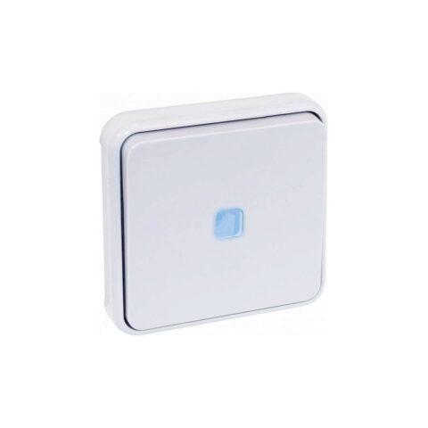 Va et vient lumineux composable Blanc IP55 - 60831