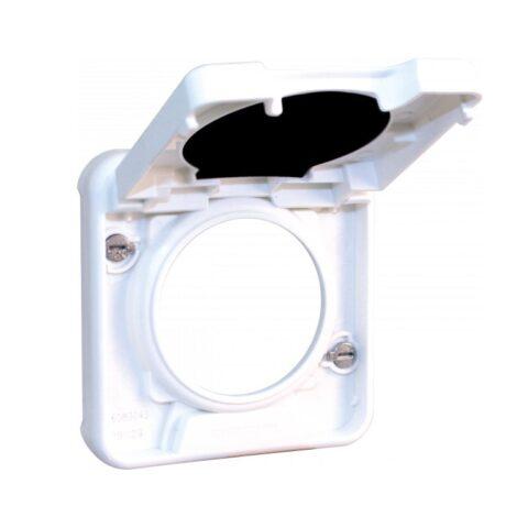 Cadre interm. fonction cde COMETE pour saillie blanc IP55 - 60857