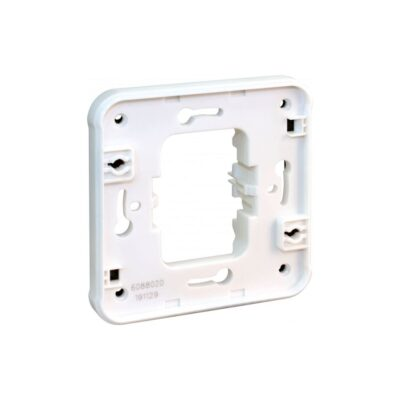 Cadre support blanc IP55 pour autres fctions encas - 60894