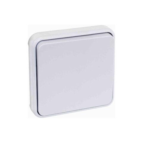 Interrupteur Va-et-vient - 10AX - 1 poste - composable - 250V - Blanc - 60830